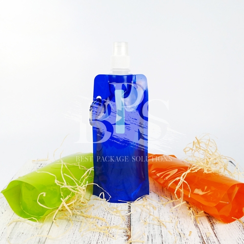 Reusable Spout Pouch with Drinking Nozzle , Handle for Portable Drinking​