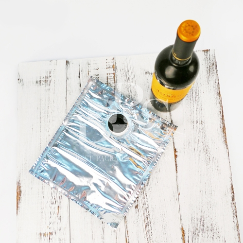 Portable Leak Proof Spout Pouch Packaging with Wine Spout Top